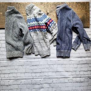 Boys sweaters size 6/7